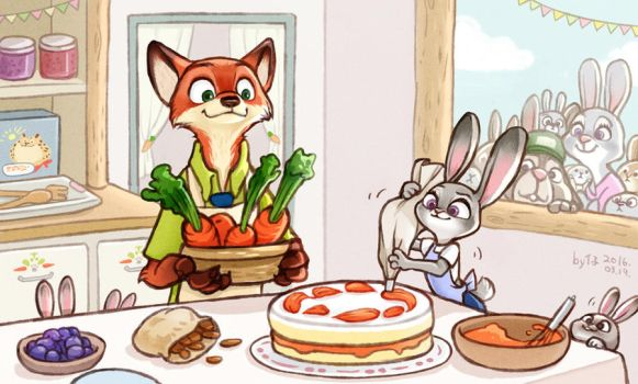 In Judy's home by smily0347yo