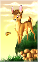 Bambi by WhiteLiolynx
