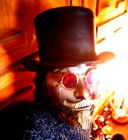 steampunk mask by Artifice-Jack