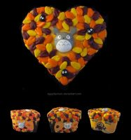 Fall Totoro Box by egyptianruin