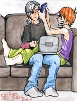 distraction - for ash by piig