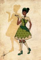 Disney Girls: Tiana by KimberBee