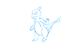 005 Charmeleon -Sketch- by InfamousSpark