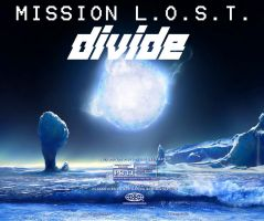 Mission L.O.S.T. DIVIDE Poster 2 by Gaming-Master