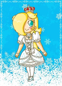 chibi queen rosalina by ninpeachlover