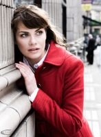 Red coat by CamPhoto