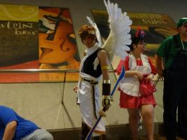 Kid Icarus's Pit Cosplay by GamerZone18