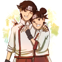 Tenten and Tenten by BayneezOne