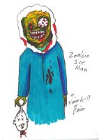 Zombie Iceman by UncleGuts