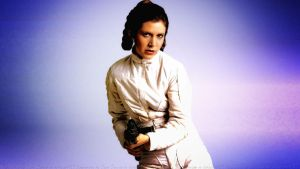 Carrie Fisher Princess Leia XIII by Dave-Daring