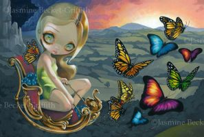 Butterfly Chariot by jasminetoad