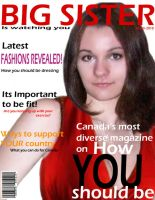 Fake Magazine Cover Page by K-Paro