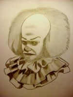 Pennywise the clown by Jwpepr