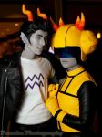 Homestuck: Cro/tuna by Yonejiro