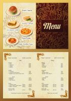 Restaurant  Menu by gansukh