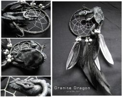 Dream Catchers: Granite Dragon - protector by SaQe