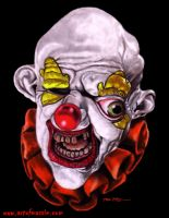 Freako the Clown by Massiepiece-Theater