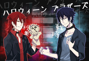 MM: Halloween Brothers by kinjiru006