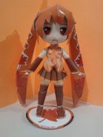 Autumn Miku papercraft by daigospencer