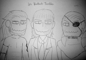 Les Vieillards Terribles by soggycereal