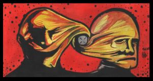 TWINS painting by clive-barker-club