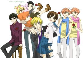 Ouran High School Host Club by Kissmygeass