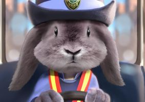Realistic Zootopia - Officer Judy Hopps by LJ-Phillips