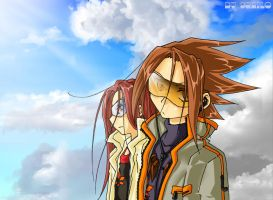Shaman King: Cool boys xD by Shailo