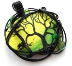 Twilit Forest Pendant no. 8 by sojourncuriosities