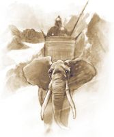 hannibal elephant by japa2