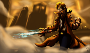 My Characters - Ryosuke, the Dragonknight by Arenthor