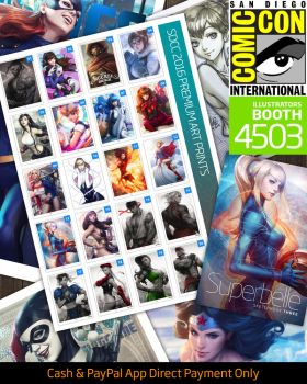 SDCC 2016 by Artgerm