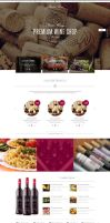 Wine - Restaurant WordPress Shop by wpthemes