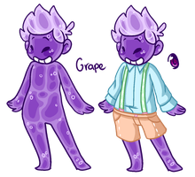 Hatched Slime bb: Grape by Thoughtful-Stargazer