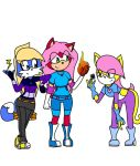 Team Charm (Base used Lineartand Color) by MitsumiRobertsHedgie