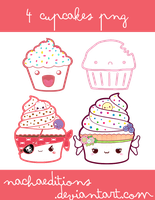 Cupcakes png by NachaEditions