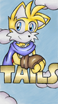 Art Academy Art: Tails by DragonQuestHero