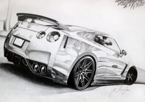 Nissan GTR by Mipo-Design