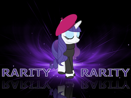 Rarity Wallapaper by Swordbeam