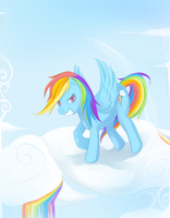 MLP RainbowDash by ninnt