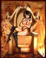 queen vampirella by tom ross by lad-on