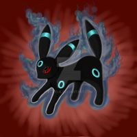 Shiny Umbreon by Eloylie