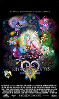 Kingdom Hearts:Friendship is Magic by artmagetommy
