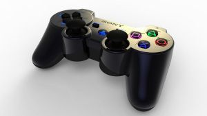 Playstation 4 Controller by SCADBEEZIE