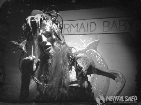 Mermaid Sideshow Freak by mentalshed