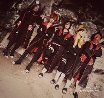 Naruto: Akatsuki say Hello! by HeavenCatTheRealOne