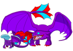 Daddy's Little Dragon by kasanelover