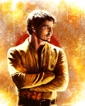 Game of Thrones : Oberyn Martell by p1xer