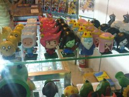Adventure Time mini figures by thereanimatedunknown
