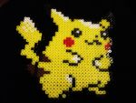 Pikachu - pokemon did with pearler beads by Ritalabella